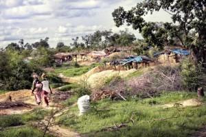 Reportage photo de la ruée vers l'or au Sénégal: Laeila Adjovi