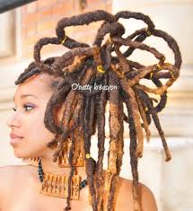 Dreadlocks girl
