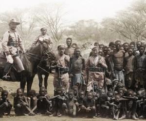Les officiers Allemands en Namibie
