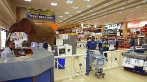 Grands magasins au Kenya
