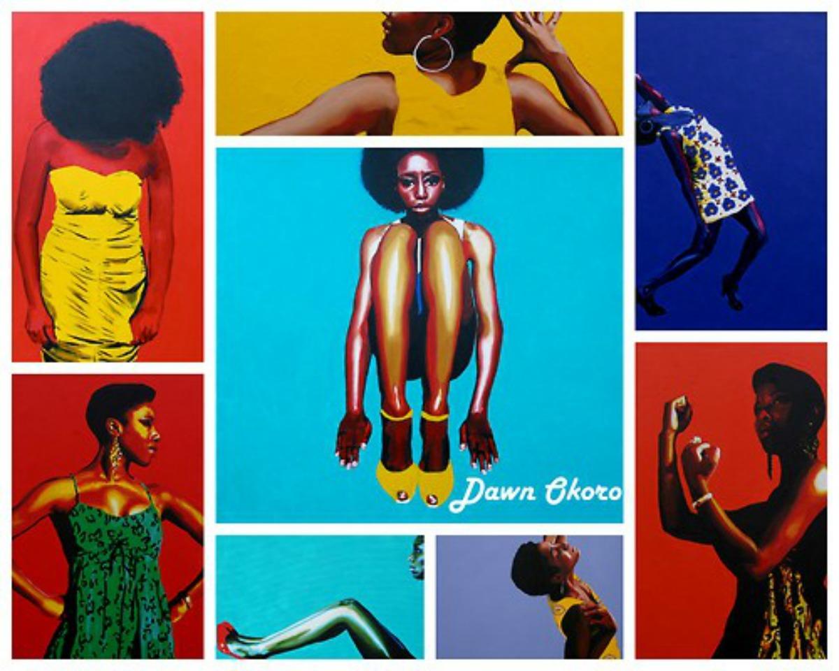 Dawn Okoro, peintre afro-américaine