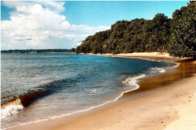 Kribi beach - plage Cameroun