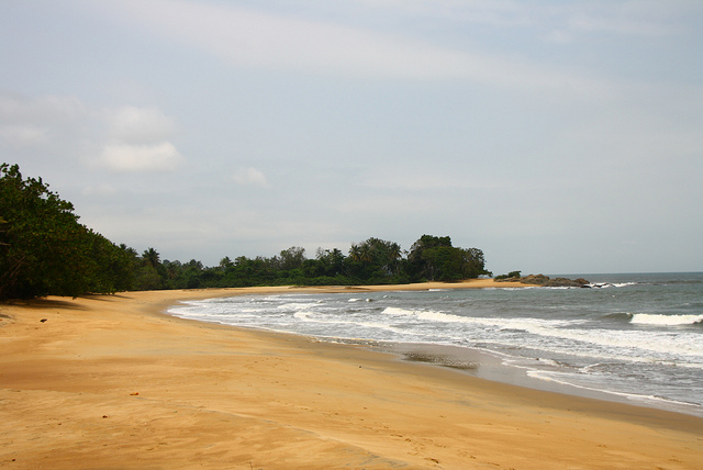 Kribi blue - plage Cameroun