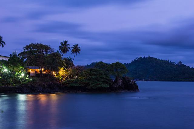 Limbe - plage Cameroun