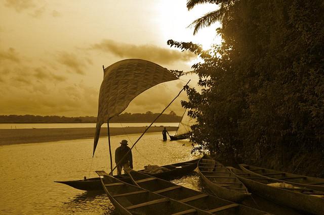 Mouanko - plage Cameroun