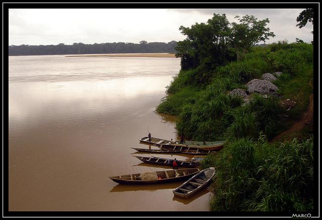 Sanaga Mouanko - plage Cameroun