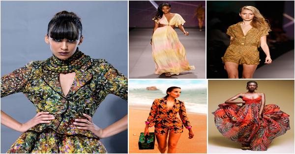 "La créatrice de mode nigériane : Folake Folarin-Coker  ""Tiffany Amber"""