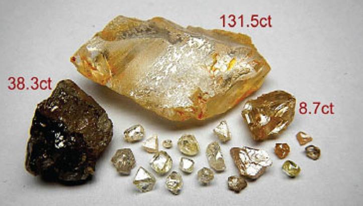 Angola mine diamonds