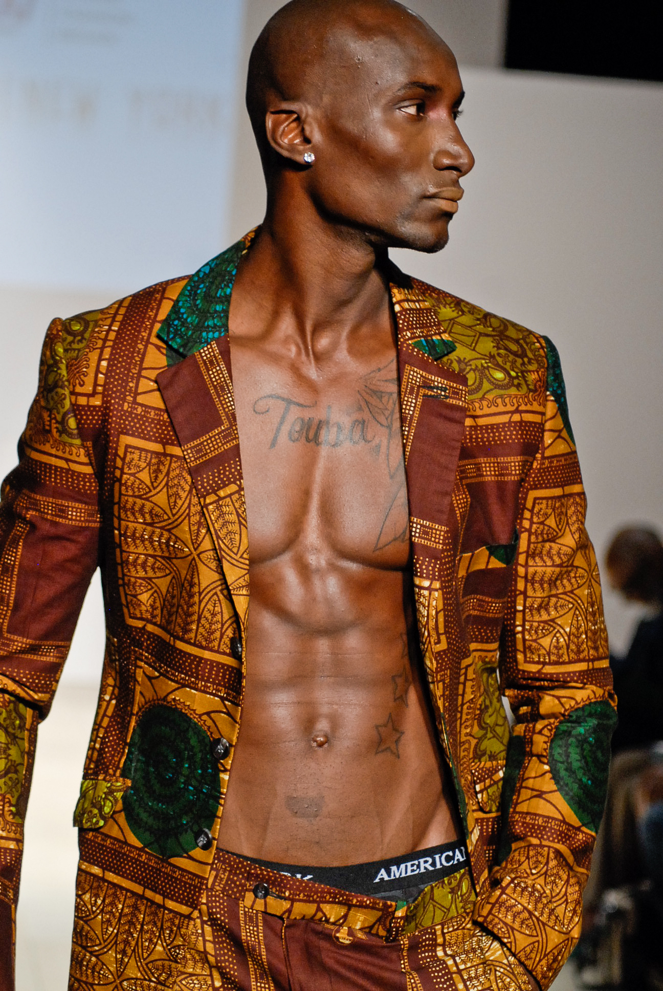 DavidNso,kibonen, Kibonen,at,Africa,Fashion,Week,in,New,York,