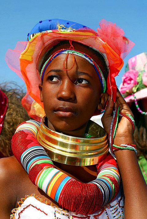 Parrure des femmes Ndebele