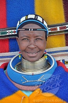Parure femme Ndebele