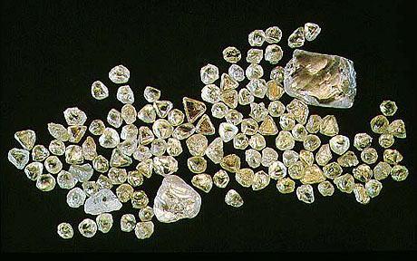 debeers Bostwana diamant