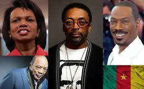 Les camericains célèbres -Spike lee, Quincy Jones, Eddy Murphy, Condileezarice