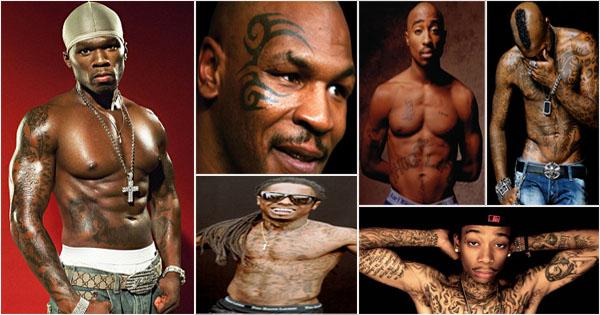 15 Hommes Noirs Célèbres Avec Des Tatouages Afroculturenet