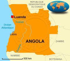 carte Angola