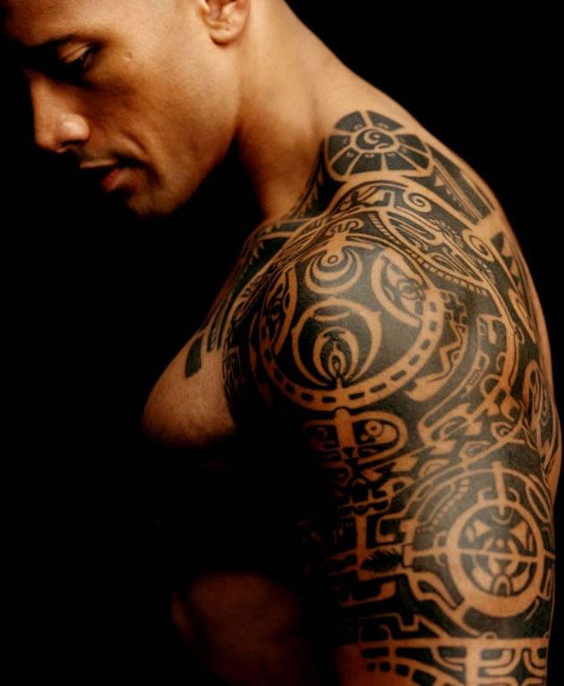 dwayne_johnson_the rock_tattoos_tatouage