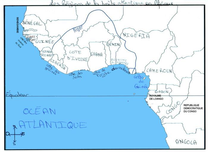 pays côtiers de l'Afrique esclavage - atlantic slave in africa