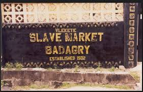 slave market badagry