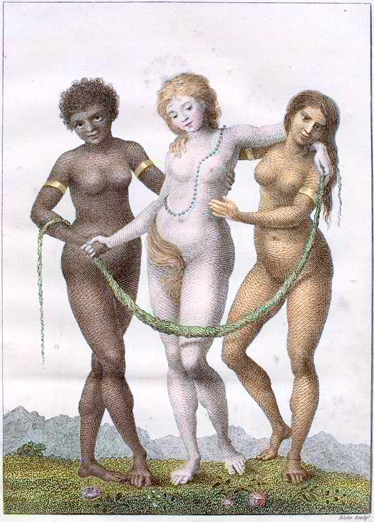 william blake europe supported by africa and america1796
