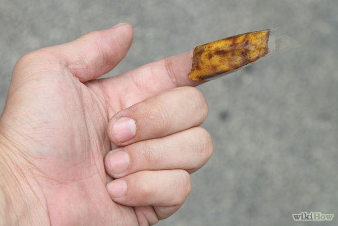 utiliser peau de banane pour enlever écharde - Use-Banana-Peels