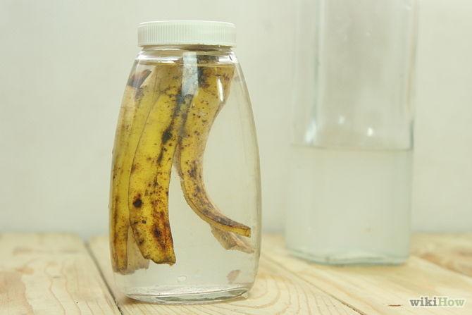 Résultat d'images pour  Faire du vinaigre avec de la peau de banane