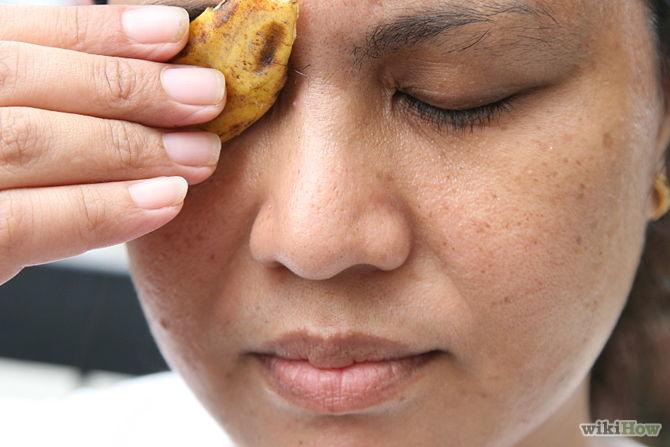 Utiliser les peaux de bananes pour soigner la peau du visage -Use-Banana-Peels