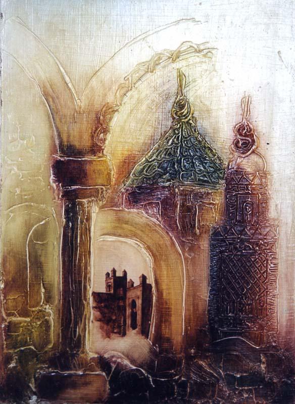Peintre marocain : Abderrazak Ahmamou
