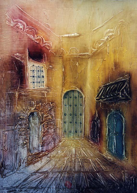 Abderrazak Ahmamou, peintre marocain
