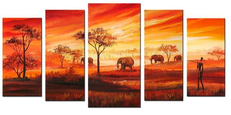 peintre camerounais théodore wandji - cameroun (2)
