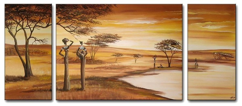 peintre camerounais théodore wandji - cameroun (4)