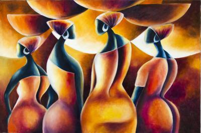 Sammy Lutaya – peintre kenyan