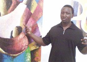 portrait Sammy Lutaya