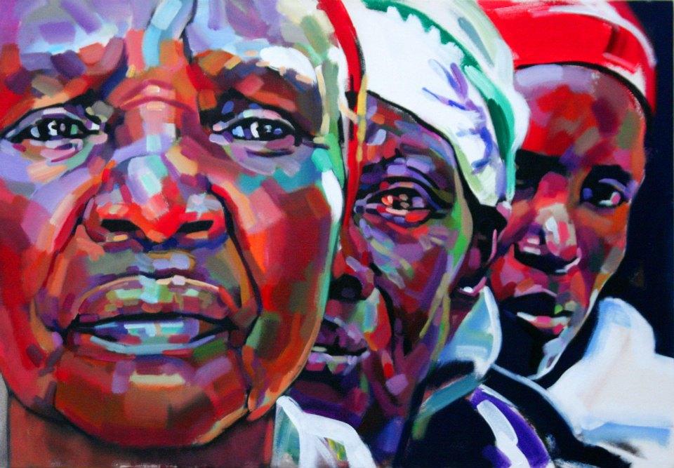 Ermias Ekube – peintre Éthiopien
