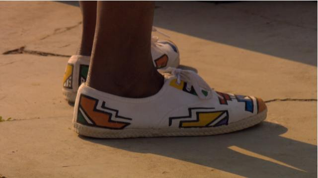Chaussures - shoes - ndebele