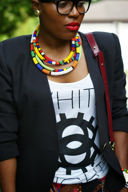 Ndebele inspired necklaces,