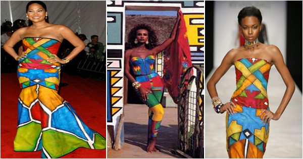 mode ndebele - mode africaine