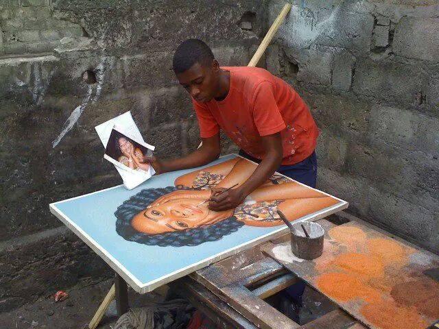 Ardhy Massamba -artiste peintre portraitiste congolais (8)