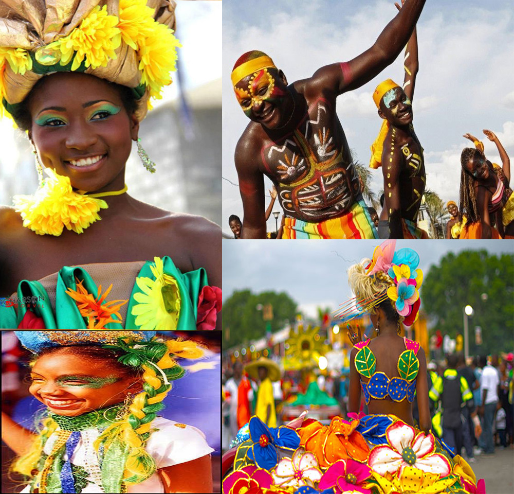 Haiti's carnival of flowers