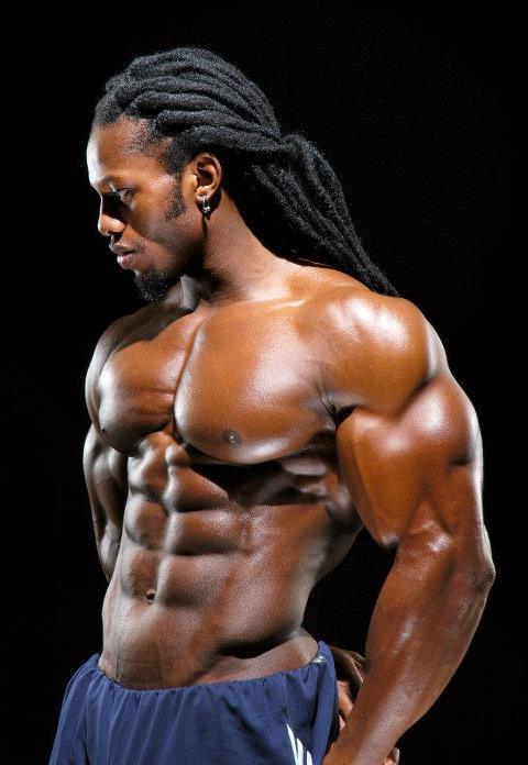 Muscular Naked Black Men 76