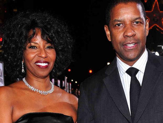 Denzel Washington et Pauletta Pearson 2