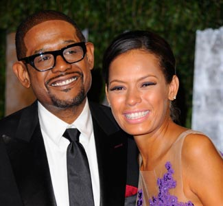Forrest Whitaker et Keisha Simone Nash