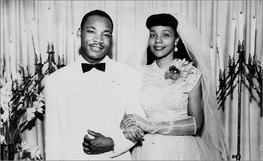 Marthin luther king et Coretta Scott
