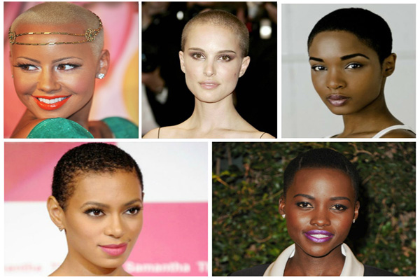 Bald Hairstyles For Black Women Very Short And Sexy Hairstyle