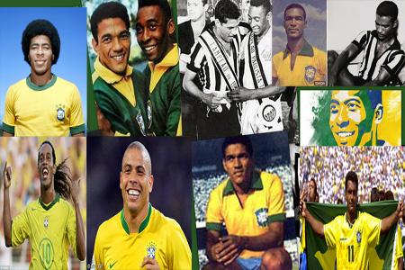 Footballeurs Afro-brésiliens -afro-brazilian