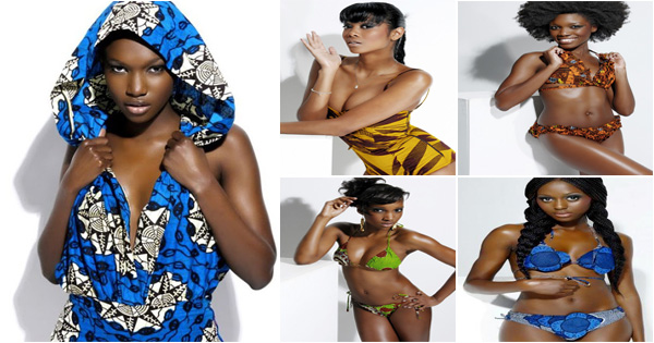 Ankara swimsuit by Adama Paris | Senegal