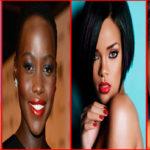 15 magnifiques femmes noires & métisses en rouge à lèvres rouge