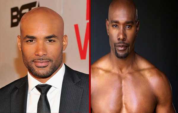 Boris Kodjoe - Moris Chestnut Bald hairstyle