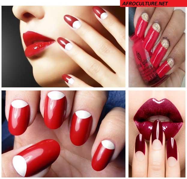 Half-moon manicure-AFROCULTURE
