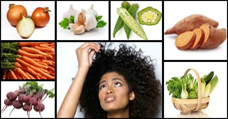 Légumes qui favorisent la croissance des cheveux