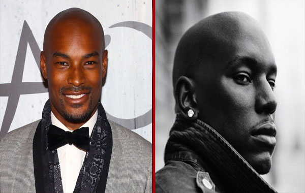 Tyrese - Tyson Beckford - Coupe chauve et sexy - hommes noirs